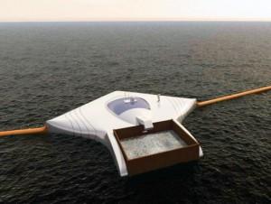 Ocean-Clean-up-array