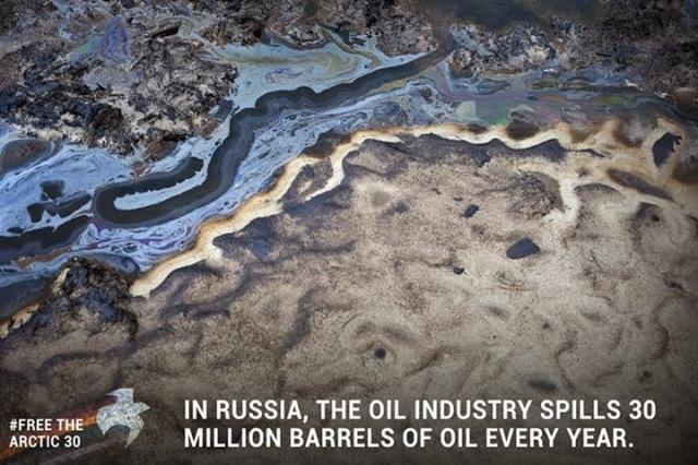 Russia+oil+spill